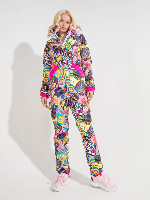 WOMAN'S OVERALL DISCO