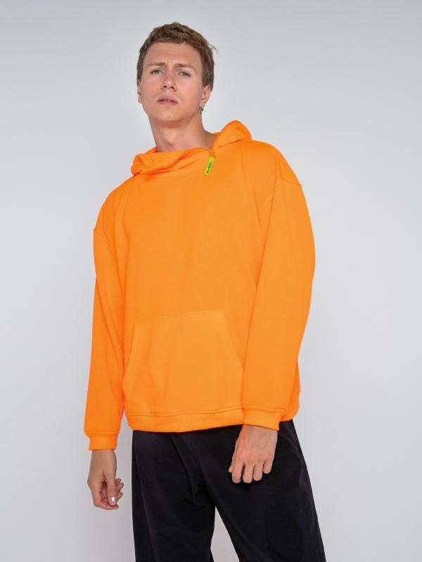 Худи оранжевое