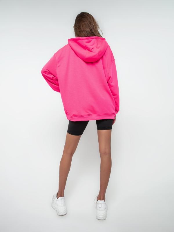 Худи розовое