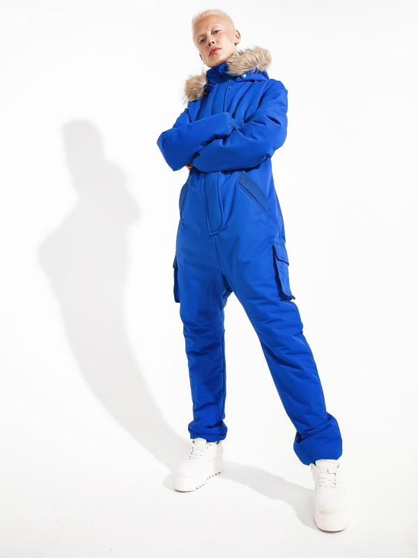 """Overall """"Electric Blue"""""""