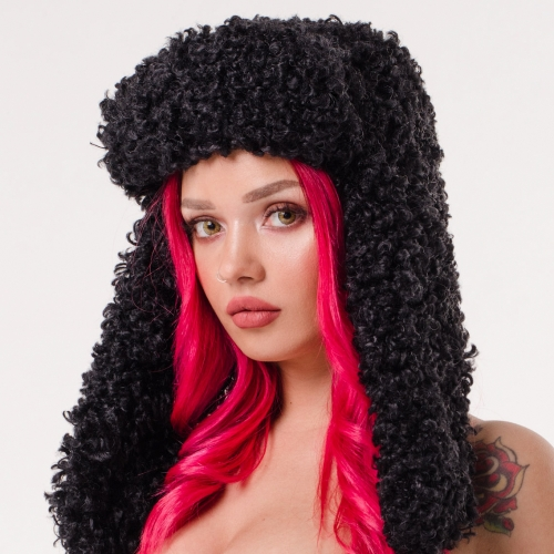 Winter hat Mishanka Black