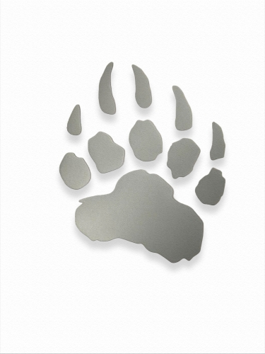 "LIGHT-RETURNING STICKER ""LED PAW"" Medium"