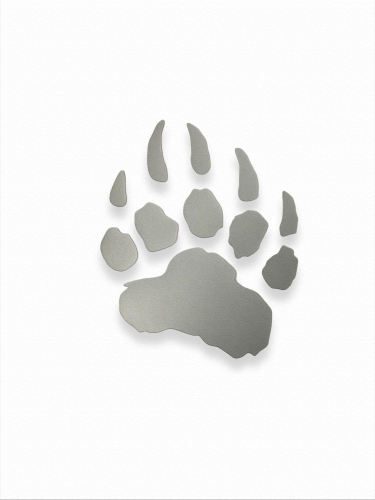 "LIGHT-RETURNING STICKER ""LED PAW"" SMALL"