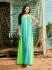 Платье пляжное Зеленое